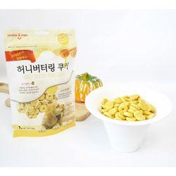 강아지간식 허니 버터링 쿠키 120g(눈건강단호박)