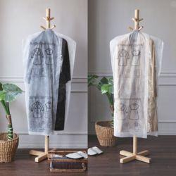 부직포 코트 옷커버 10개 드레스커버 코트커버