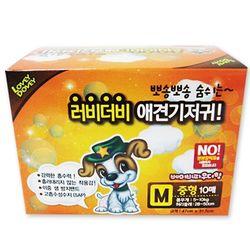 강아지 배변 러비더비 애견 기저귀 10매(M)