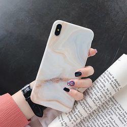 글로시 마블 아이폰 케이스