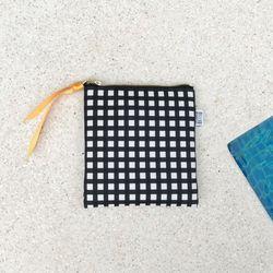 방수 디어파우치 (체크-블랙) - S size