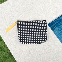 방수 디어파우치 (체크-블랙) - M size