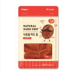 퍼피아이 네츄럴 소고기 하드 칩 60g 애견간식강아지간식