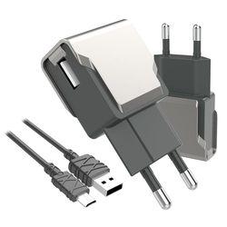 팝폰 5핀 스마트 USB 고속 충전기 TC50