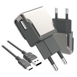 팝폰 C타입 스마트 USB 고속 충전기 TC51