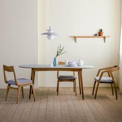 린 타원형 테이블 01 1800