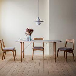 린 타원형 테이블 02 1800