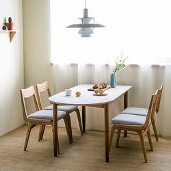 린 반타원형 테이블 03 1600