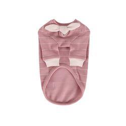 T.쁘띠스카프티셔츠 petit scarf stripe T Pink