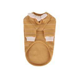 T.쁘띠스카프티셔츠 ]petit scarf stripe T Mustard
