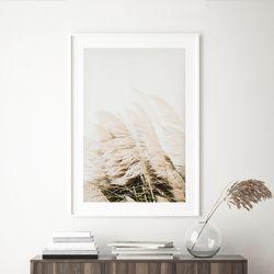 윈드 가을 들판 그림 인테리어 A3 포스터