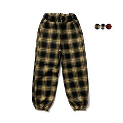 타탄 체크 조거 팬츠 Tartan Check Joger Pants(3color)