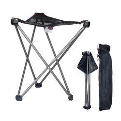 등산 산행 세로 접이식 초경량 삼각 울트라 의자 M