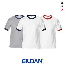 [GILDAN] 심플 라인 반팔 티셔츠