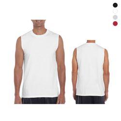 [GILDAN] 남녀공용 USA핏 슬리브리스 티셔츠