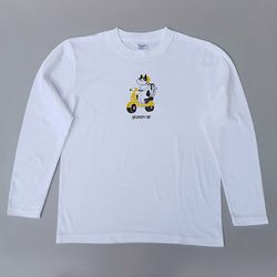 Cats hill restaurant & Delivery cat 긴팔티셔츠 (white)
