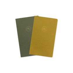 20 HALF DIARY set  green olive