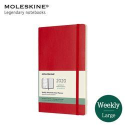 몰스킨2020 위클리 12M소프트L 스칼렛레드