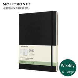몰스킨2020 위클리 12M하드XL 블랙