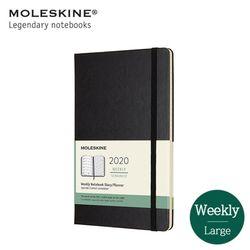 몰스킨2020 위클리 12M하드L 블랙