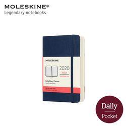 몰스킨2020 데일리 12M소프트P 사파이어블루
