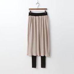 Pleats Skirt Leggings