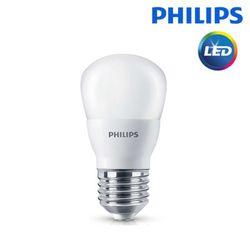필립스 LED 3W 전구 램프 E26 전구색 노란빛 신형