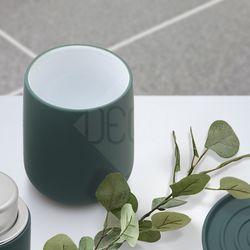 노바 텀블러 딥그린 욕실용품 칫솔홀더 양치컵