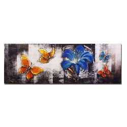홈스타일링 백합 나비 유화액자CH1485761