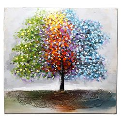 홈스타일링 여행자의 나무 유화액자CH1485769