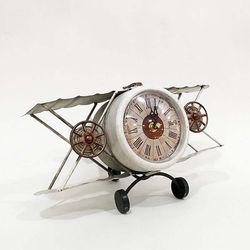 홈스타일링 비행기 탁상시계CH1485582