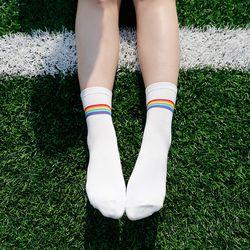 fsn073 레인보우 패션양말