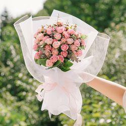 프레시어스 자나 장미 50송이 프로포즈 꽃다발-고백꽃다발