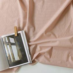 [Fabric] 코튼폴리 혼방 솔리드 핑크 Blending Pink Pearl