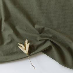 [Fabric] 코튼폴리 혼방 솔리드 카키 Blending Olivine Kahki
