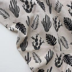 [Fabric] 선인장 모노린넨 Plants Linen