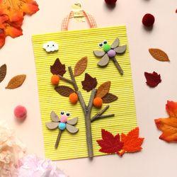 가을 나무발 꾸미기5set