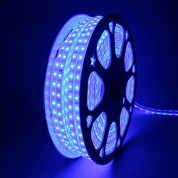 퍼스트 LED 후렉시블 논네온 청색 50미터 플렉시블