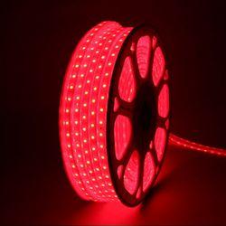 퍼스트 LED 후렉시블 논네온 적색 50미터 플렉시블