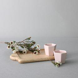 마리벨 술잔 2P (코지 핑크)
