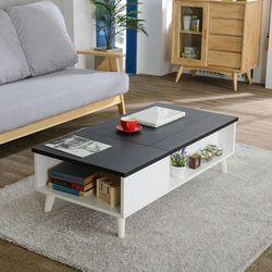 포이스 리프트업 소파 테이블 1200