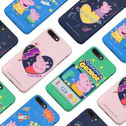 [구매별 사은품증정] 페파피그 코스믹 터프케이스 - 아이폰 갤럭시 LG 폰케이스