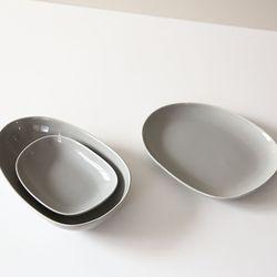 그레이 보울 접시 3 type 2호  접시