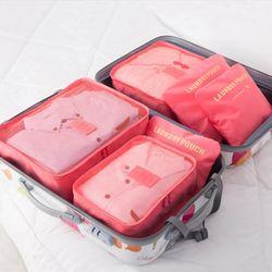 캐리어정리 여행용품케이스 여행용 파우치 6종세트