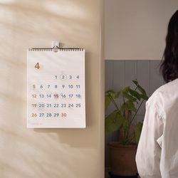 [메신저 펜 증정] 월 캘린더 라지 2020