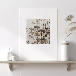 드라이 가을 들판 그림 인테리어 A3 포스터