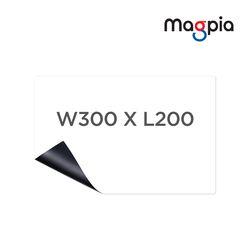 고무자석 미니 메모보드 (W300XL200) 화이트보드 자석칠판