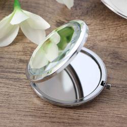 크리스탈 양면 손거울(화이트)