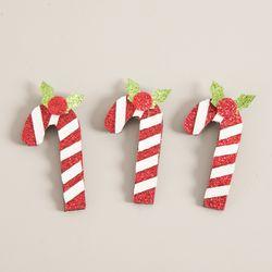 펄지팡이 5cm (3개입) 크리스마스 장식 소품 TROMCG