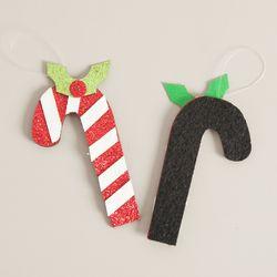 펄지팡이 8cm (2개입) 크리스마스 장식 소품 TROMCG